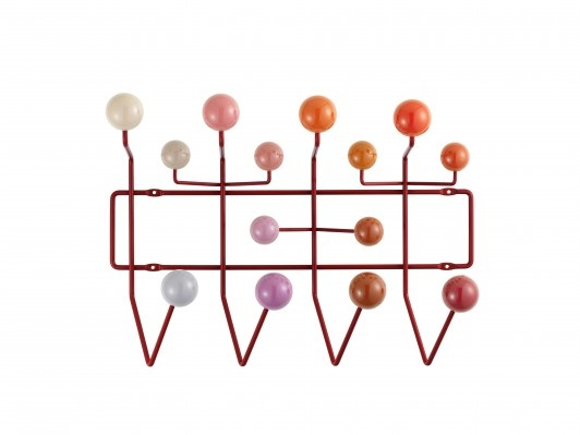 Coathanger 'Hang it All' by Vitra in pink and orange!