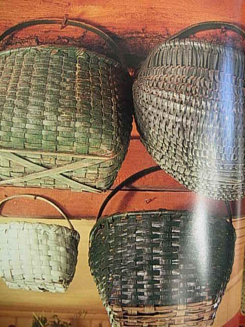 Gathering Of Old Baskets...