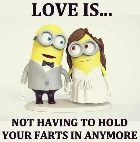 Ooh! Stinky love.