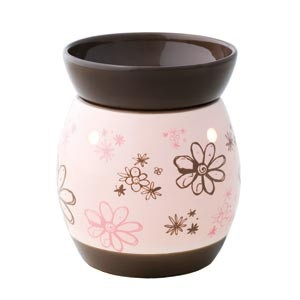 """#Scentsy Full-size Wax Warmer """"Doodlebud"""" - £28. Contact me to order at https://carefree-candles.scentsy.co.uk/Scentsy/Buy/Collection/497"""