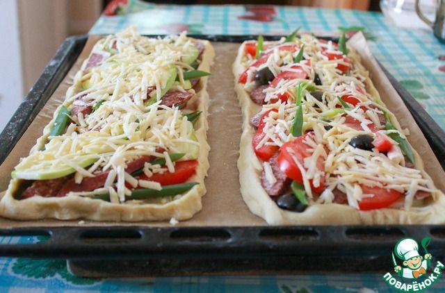 Слоеные пироги для пикника ингредиенты