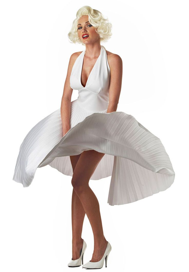 Marilyn Monroe White Dress, The Seven Year Itch Fancy Dress - Hollywood and TV costumes at Escapade™ UK - Escapade Fancy Dress on Twitter: @Escapade_UK