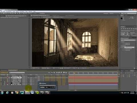 Dust Particles Effect in After Effects - YouTube