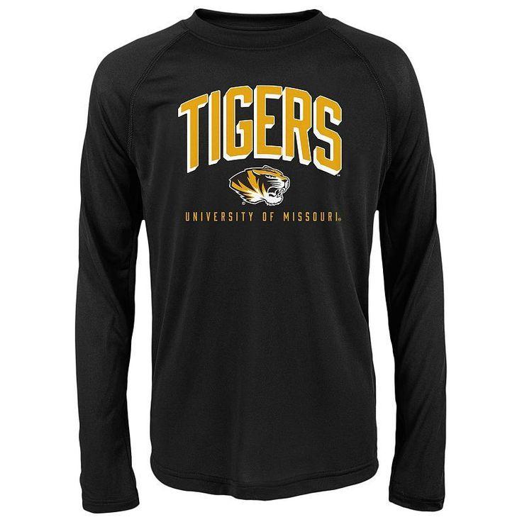 Boys 8-20 Missouri Tigers Arch Tee, Boy's, Size: S(8), Black