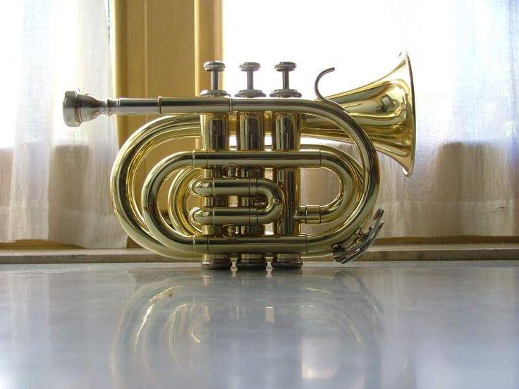 Pocket trumpet marca Wisemann vendo