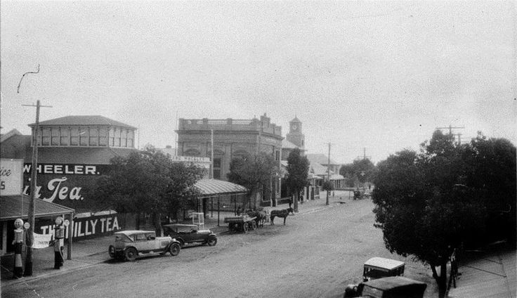 Lachlan Street, Hay. NSW .ca.1930