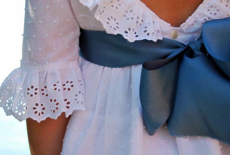 Detalle vestido de Las Tres Ocas!