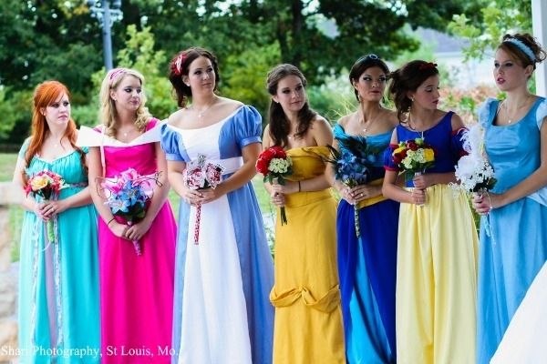 The Most Epic Disney Wedding Ever --- Honestly, I could see myself doing this. @Belle Carter could be Bell, I suppose.