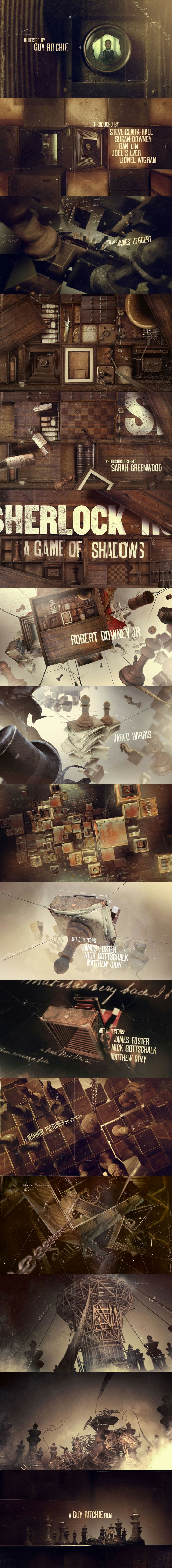 Alternate Sherlock Holmes Opening Credits by Danny Yount.