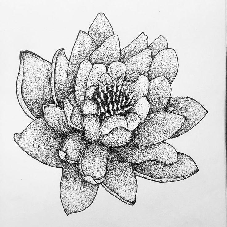"""577 likerklikk, 9 kommentarer – Soulreflection (@soulreflection) på Instagram: """"Another flower 🌸 Feel free to contact me, email in bio  #flower #lotus #lotusflower #pen #drawing…"""""""