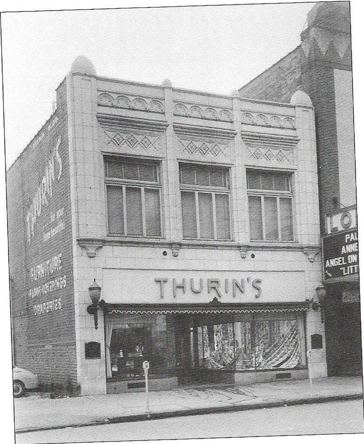 Vintage downtown canton thurin 39 s furniture home for Home builders in canton ohio