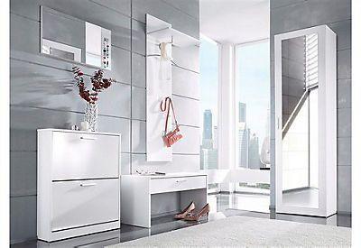Garderoben-Set »Torino« (3-tlg.) in weiß glänzend im Online Shop von Baur Versand