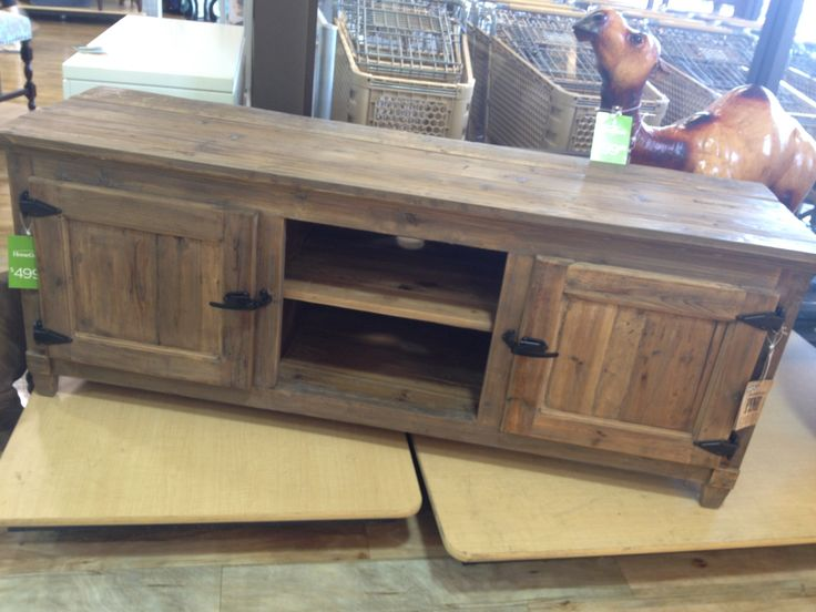 Home Goods find! Rustic entertainment center piece. Love!! $499