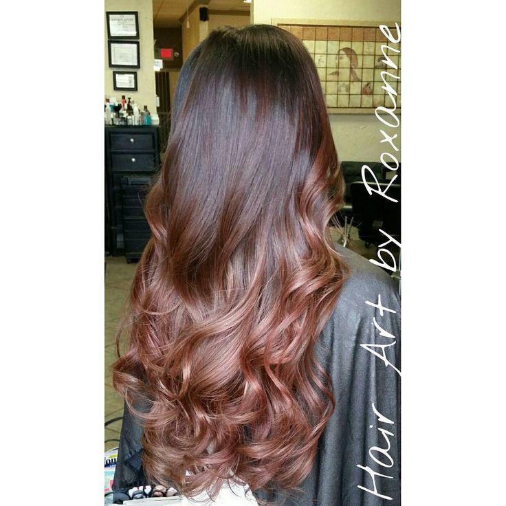 88 besten hair color rose gold bilder auf pinterest. Black Bedroom Furniture Sets. Home Design Ideas