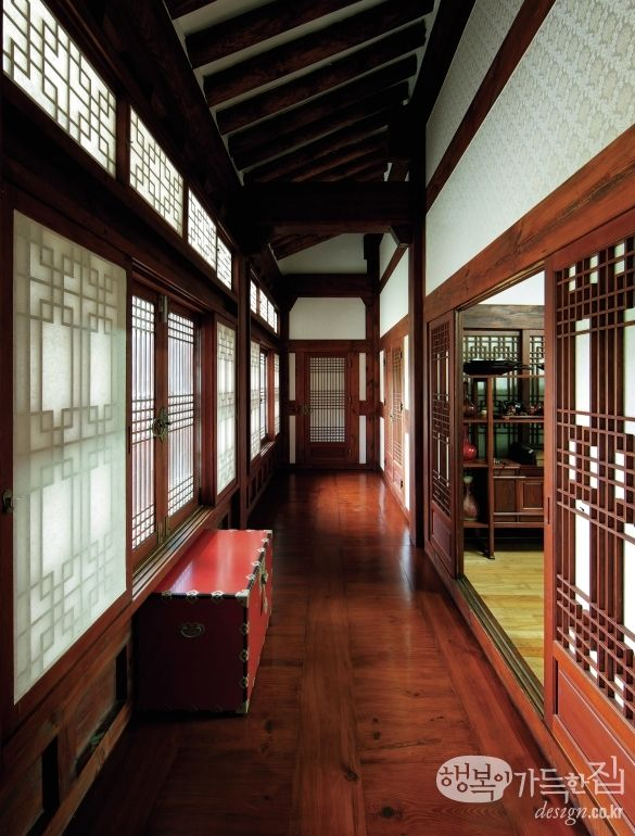 House full of happiness _ thaw slope gwonohchun Chairman of the Institute hanok house Au-jin they Noni, per choeun