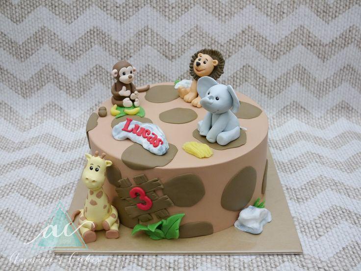 Zoo cake   Dierentuin taart