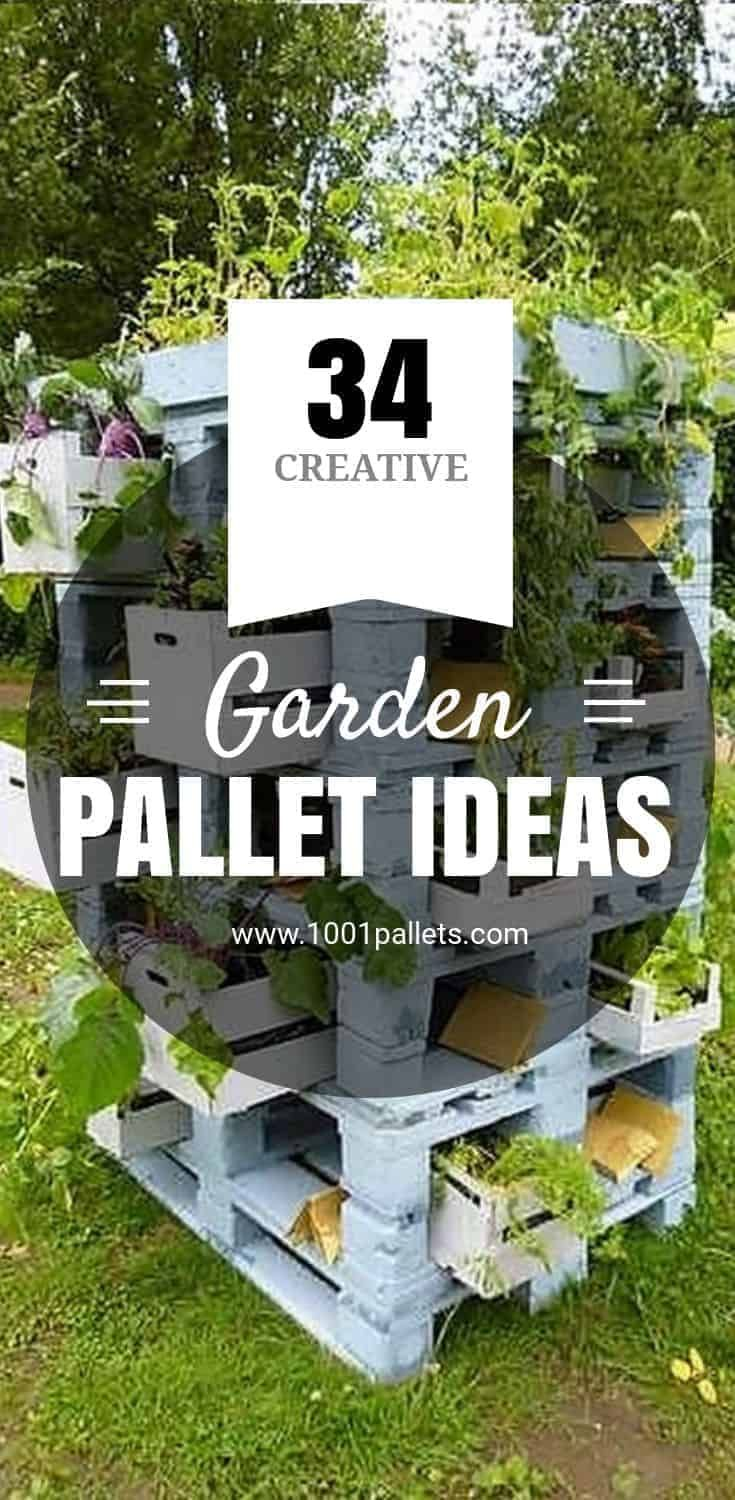 The Best 10 Pics Creative Garden Ideas With Pallets And Pics Pallets Garden Pallet Garden Backyard Garden Landscape Backyard garden ideas with pallets