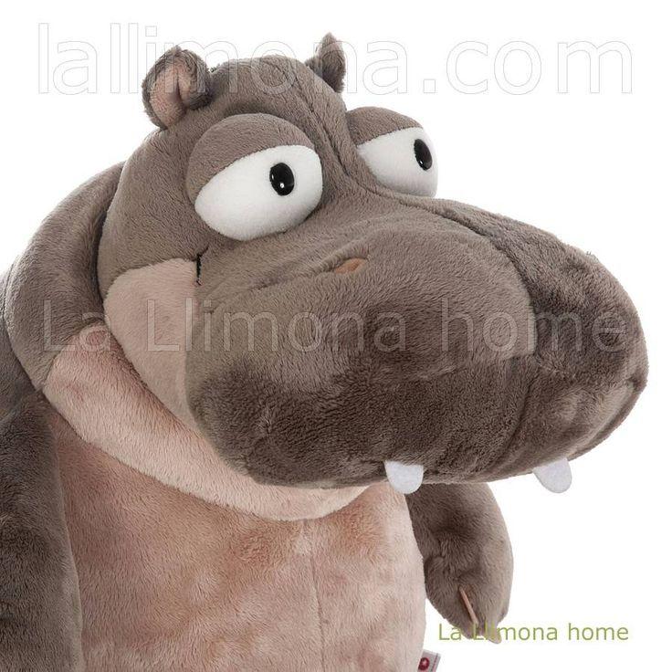 Nici peluches y complementos. Nici hipopótamo Balduin peluche sentado 25