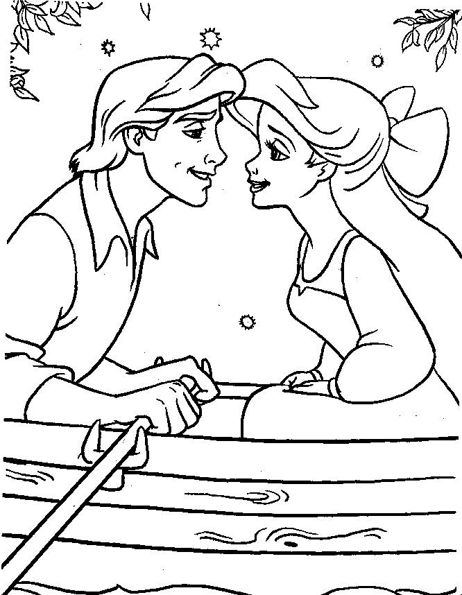 Disney Princesses Coloring Pages 15