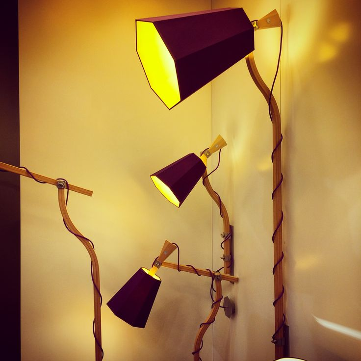 LuXiole lamp family from @designheure. Cool and fresh design from the french company. #lamp #lighting #lightingdesign #euroluce #euroluce2015 #milandesignweek #design