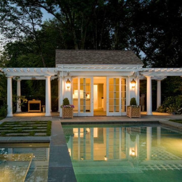 Swimming Pool Cabana Ideas 17 swimming pool cabana designs creative ideas Coastal Pool House Pool Cabanadesign Architectpool Ideascabana Ideasoutdoor