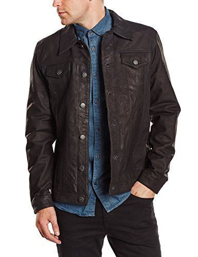 17 best ideas about veste en cuir homme on pinterest. Black Bedroom Furniture Sets. Home Design Ideas