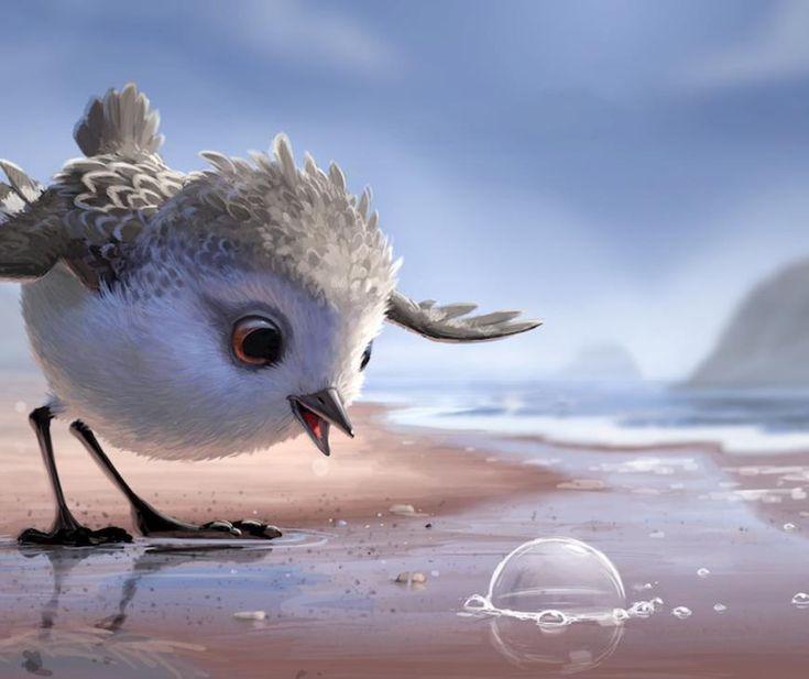 Piper, le nouveau court-métrage signé Pixar | MilK - Le magazine de mode enfant