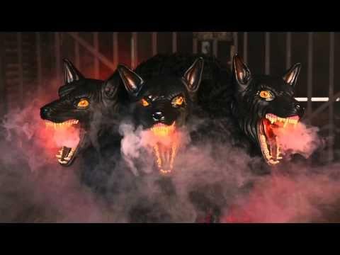 25 cerberus 3 headed dog spirithalloweencom scary halloween propsspirit