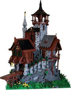 Lego Medieval on Pinterest   Lego, Robin Hoods and Vignettes