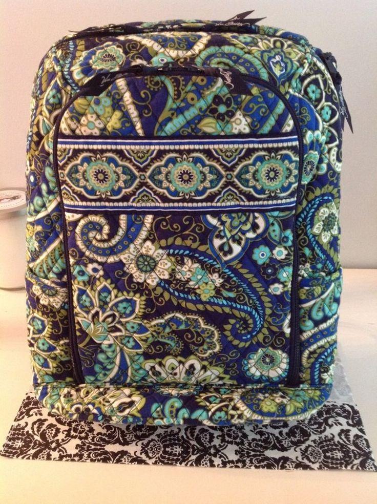 Vera Bradley Laptop Backpack in Rhythm & Blues #VeraBradley #Backpack