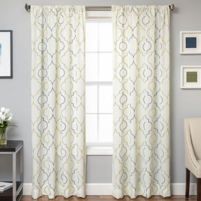 buy monza 108inch window curtain panel in from bed bath u0026