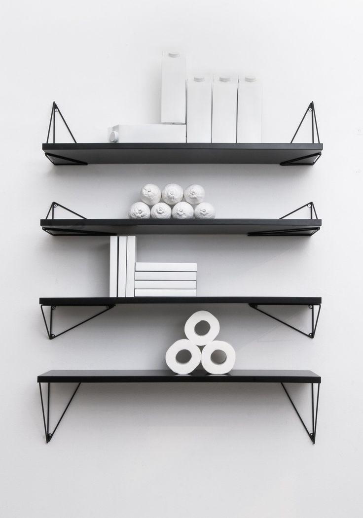 Pythagoras, one shelf system, unlimited design solutions