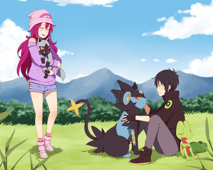 Original Characters [ Wish I were into Pokemon... <3 this art ]