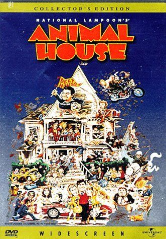 "Animal House ~ ""At a 1962 College, Dean Vernon Wormer is determined to expel the entire Delta Tau Chi Fraternity, but those troublemakers have other plans for him."""