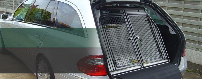 Gun Dog Car Carriers Boxes Crates Uk