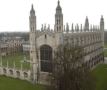 Kings College Chapel Cambridge  KC was founded in 1441 by Henry VI (1421-71) and is one of the 31 colleges in the University of Cambridge.