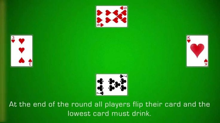 How to Play Screw Your Neighbor Card games, Cards
