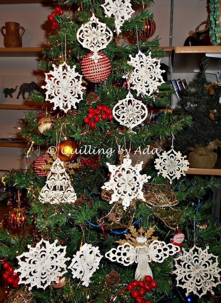 Quilling by Ada - Romania - snowflakes / Stelute