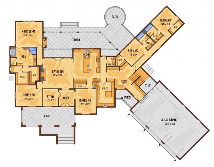 3228 best floor plans images on pinterest | house floor plans