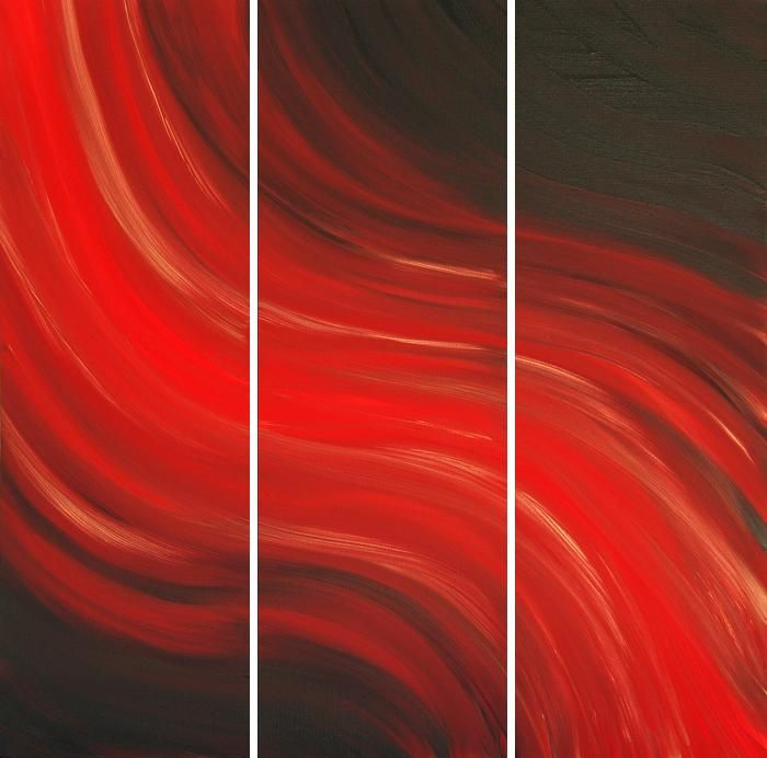 red abstract art - Google Search