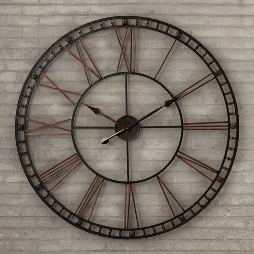 Oversized Methuen 39 Quot Wall Clock Kitchen Wall Clocks