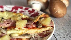 Low Carb Pizza mti frischkaeseteig Die beste 3