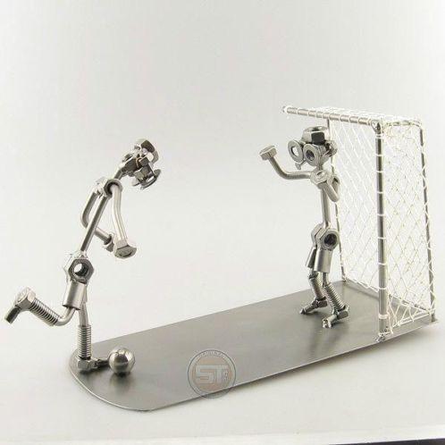 Voetbal strafschop - steelman, cadeau, penalty, geschenk bal