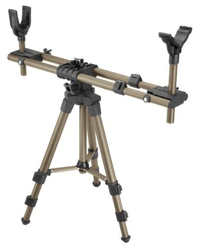 Caldwell Deadshot Fieldpod by Caldwell. $79.42. The DeadShot FieldPod offers hunters bench rest accuracy when it matters most – in the field. With the DeadShot FieldPod, hunters can achieve in-field accuracy comparable to what they've experienced at the range. It's ideal for shooting rifles, shotguns, muzzleloaders, and crossbows from inside a ground blind. It helps deer, turkey, and predator hunters maintain perfect gun position on every set while minimizing mo...