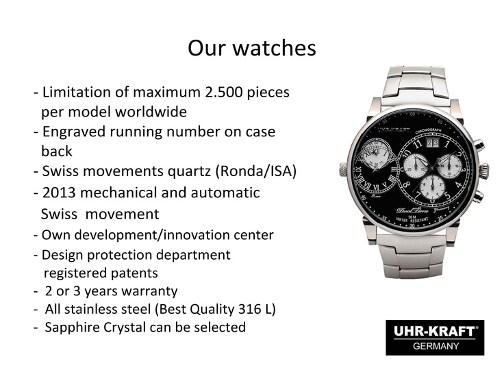 Our Watches