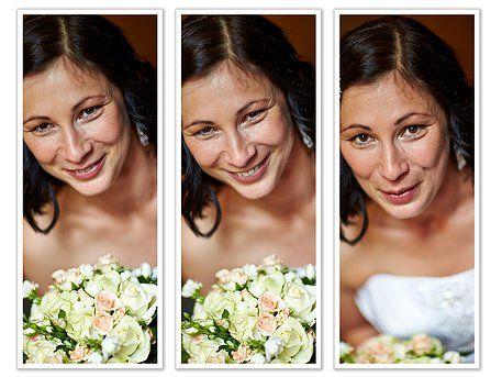 svatební portrét
