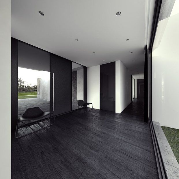 Ultra Minimal And Clean House Cz House Living In Luxury