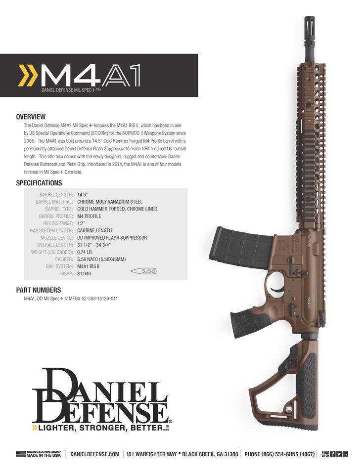 Daniel Defense M4A1 (Mil Spec +)  www.danieldefense.com