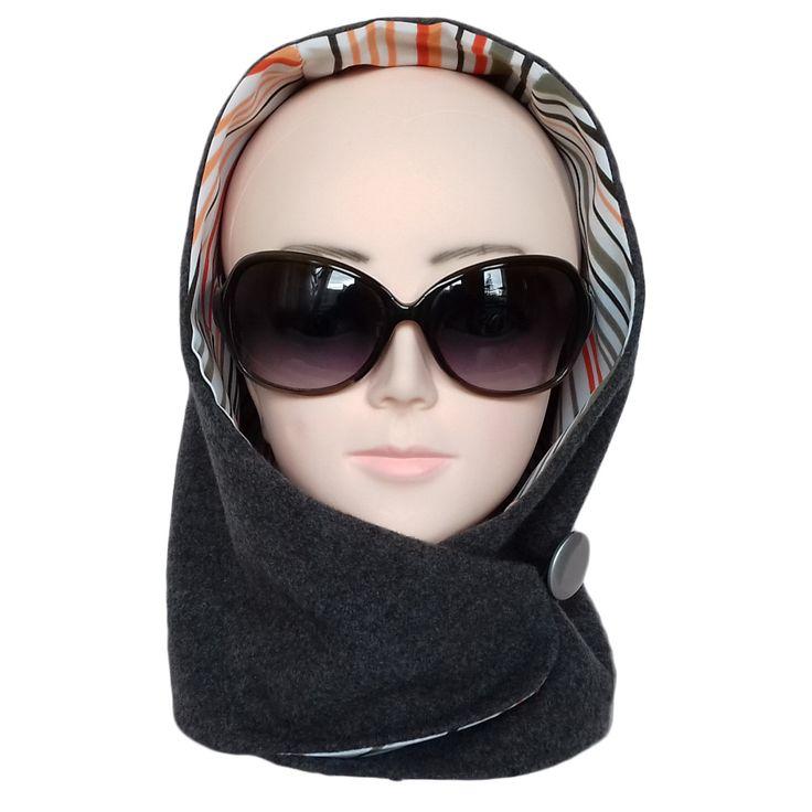 Woman's headdress. Fashionable women's hat. Handmade. Free shipping by ShopNataly on Etsy