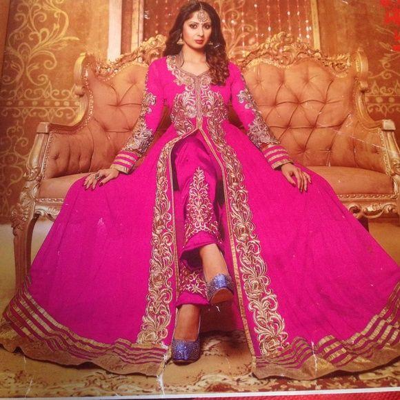 Fancy indian dress salwar kameez anarkali Fancy indian dress salwar kameez anarkali. Size 40 Dresses